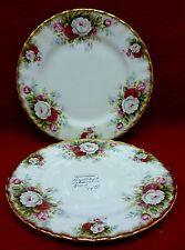 "ROYAL ALBERT china CELEBRATION pattern Bread & Butter Plate - Set of 2 - 6-3/8"""
