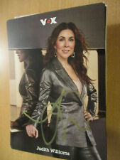 100278 Judith Williams TV Musik Film Kino original signierte Autogrammkarte