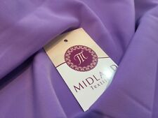 PLAIN POWDER TOUCH  CREPE DRESS FABRIC BY THE METRE M5 Mtex