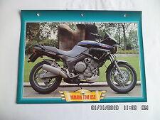 CARTE FICHE MOTO YAMAHA TDM 850 1991