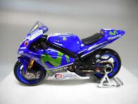 YAMAHA YZR-M1 RACING MOVISTAR 2017 46-VALENTINO ROSSI MOTO BIKE MAISTO 1:18