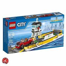 Lego For Boys City Great Vehicles Ferry Set Collection Series 60119 Building Toy
