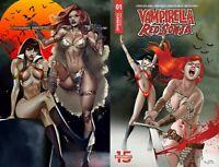 Vampirella Red Sonja Paralel Evren Istanbul Exclusives set of 2 Celor & Gunduz