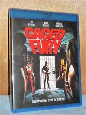 Caged Fury (Blu-ray, 2018) Erik Estrada Richie Barathy lesbian prison drama NEW