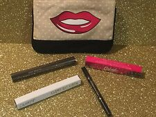 Make Up Beauty Set-Mascara, Lip Fondant, Eye Liner, DTLA Liner, New