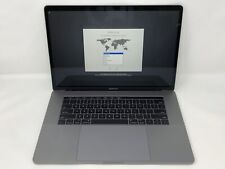 MacBook Pro 15 Touch Bar Space Gray 2018 2.2GHz i7 16GB 256GB Good Condition