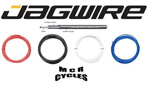 5mm Bike Outer Brake Cable & Ferrules. Jagwire CEX Housing Black Red Blue White