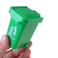 1//12 Dollhouse Miniature Kitchen Step on Wooden Bin Garbage Trash Waste CanFEH