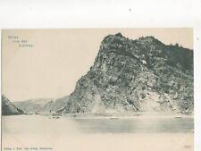 Gruss Von Der Loreley Vintage U/B Postcard Germany 080b