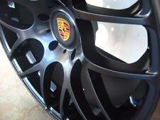 20-inch Porsche 991 996 997 Carrera 2 C4S Turbo Matte Black 5x130 Lugs