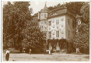 Orig. Foto BERLIN GRUNEWALD Jagdschloss, große Kastanie, Leute 10er Ja.