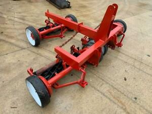 Toro Reelmaster 8 Blade WAM Reel Mower 3 Gang Ground Driven Transport Pull Frame