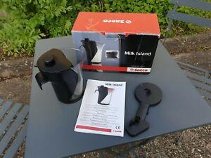 OVP  SAECO  MILK ISLAND 0,8 l Talea Gebraucht Giro Ring Touch plus Black Philips
