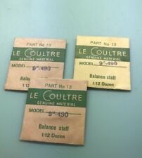 Brand New Genuine Jeager Le Coultre 490 Balance Staff Part