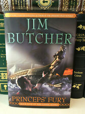 Princeps' Fury by Jim Butcher - signed 1st/1st - Codex Alera Book 5