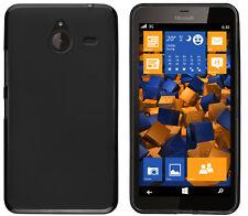 mumbi Hülle f. Microsoft Lumia 640 XL Schutzhülle Case Tasche Cover Schwarz