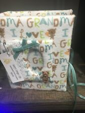 Handmade Photo Album (5X7)I Love Grandma Fits 100 4X6 Photos New
