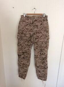 US Navy Nwu Type ii Desert Pattern Trousers Size Medium Regular