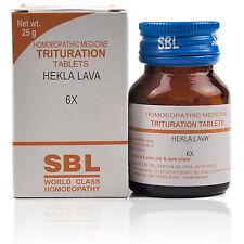 SBL Hekla Lava Trituration Tablet 6X + FREE SHIPPING WORLDWIDE