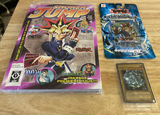 Yu-Gi-Oh! Legend of Blue Eyes pack & Shonen Jump Issue 1 Sealed w/ card & BEWD