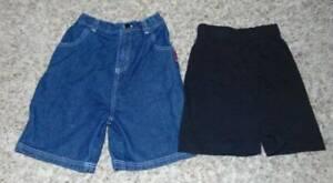 2 Boys Shorts Disney Cars Blue Denim Jean & Toy Story Black-size 6/7