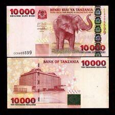 TANZANIA 10000 10,000 SHILLINGS P39 2003 ELEPHANT ANIMAL MONEY BILL BANK NOTE