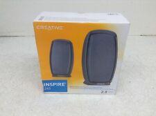 Creative Inspire 245 Computer Laptop 2.0 Speaker System 51MF1566AA000 New