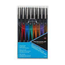 Prismacolor Premier Illustration Fine Line Markers - 05 - 8 Assorted Colors Pack