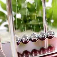 1Set Newton's Cradle Steel Balance Ball Physics Science Pendulum Desk Toys Games