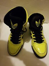 Adidas Trefoil Highlighter Yellow Mens 10 Top Athletic Shoes