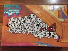 Vintage JAYMAR Walt Disney Classics 101 Dalmatians Jigsaw Puzzle 100% Complete