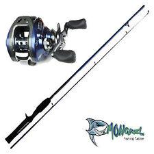 NEW Baitcaster Rod & Reel Combo 1.7M rod, LEFT HAND, great for kayak fishing