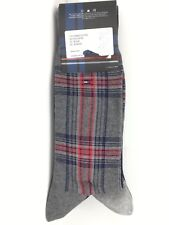Men's TOMMY HILFIGER BOLD Festive 73% COTTON Dress Socks -4 Pack- $36 MSRP- 25%