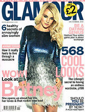 October Glamour Monthly Magazines for Women
