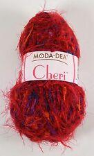 Moda DEA Cheri Special Yarn 1.76 oz Skein Red Color #9931 Variegated Yarn