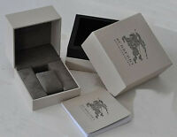 NEW Authentic BURBERRY Original Package Display Collector Box with Manual