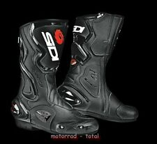 NEU SIDI Motorradstiefel Cobra schwarz Gr. 48 Racing Stiefel NEW statt 239,95 €