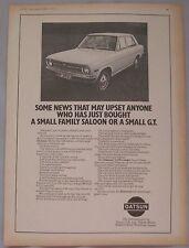 1971 Datsun 1200 Coupe Original advert