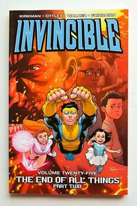 Invincible Vol. 25 The End of All Things Part 2 Image Graphic Novel Comic Book