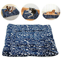 Pet Washable Blanket Dog Cat Bed Cushion Mattress Kennel Soft Crate Mat S/M/L/XL