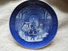 Royal Copenhagen Christmas Plate 1990 Christmas At Tivoli