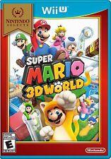 SUPER MARIO 3D WORLD NINTENDO SELECTS * NINTENDO Wii U * BRAND NEW SEALED!