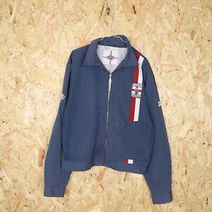 LONSDALE Harrington Jacket Blue Large L