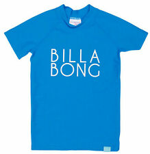 "Tags Billabong Girls Wet Shirt Rash Vest Rashie 4 ""sunny Dayz"""