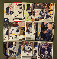 David Backes 23 Card Lot Nice Mix See Scans NHL Hockey