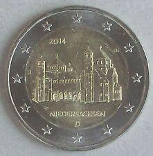 2 Euro Deutschland J 2014 Niedersachsen / Michaeliskirche unz