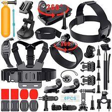 Erligpowht Sports Cam Accessories Kit Bundle for GoPro Hero 5 4 3+3 2 1