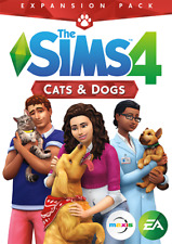 The Sims 4: Cats and Dogs Expansion PC & Mac [Origin Key] No Disc