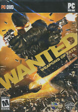 WANTED WEAPONS OF FATE Action Shooter PC Games NEW BOX!