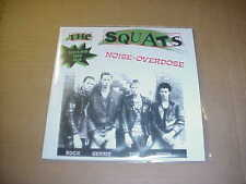 "7"":   THE SQUATS - Noise-Overdose  7"" REISSUE KBD DUTCH PUNK 80's"